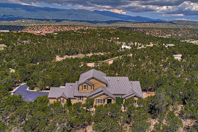 Tijeras, Cedar Crest, Sandia Park, Edgewood, Moriarty, Stanley Single Family Home For Sale: 16 Tablazon Valley Drive