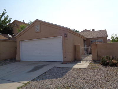 Valencia County Single Family Home For Sale: 480 Camino Del Rey Drive