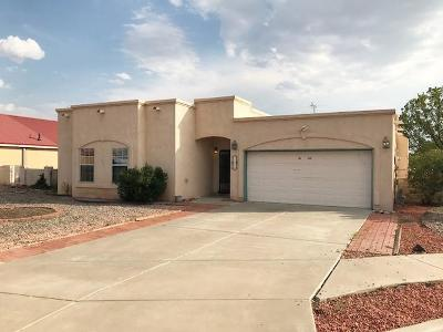 Valencia County Single Family Home For Sale: 1860 Ash Drive SW