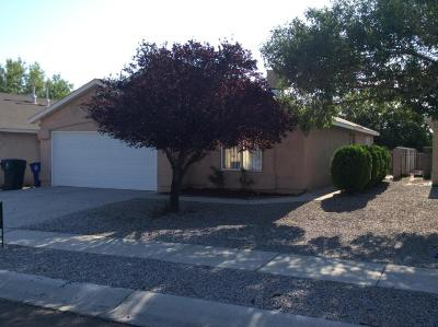 Albuquerque Single Family Home For Sale: 2304 Purple Canyon Drive SW