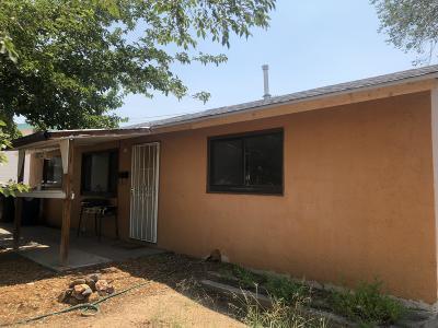 Albuquerque Single Family Home For Sale: 10712 Woodland Avenue NE