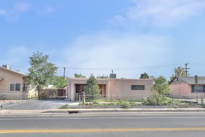 Albuquerque Single Family Home For Sale: 1101 Griegos Road NW