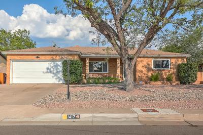 Albuquerque Single Family Home For Sale: 1412 Cagua Drive NE
