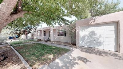 Albuquerque Single Family Home For Sale: 10825 Cordova Avenue NE