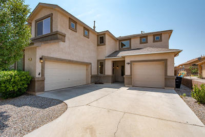 Albuquerque Single Family Home For Sale: 8120 Sand Springs Circle NW