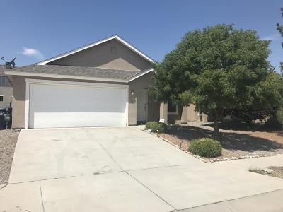 Albuquerque Single Family Home For Sale: 10467 Calle Cordoba NW
