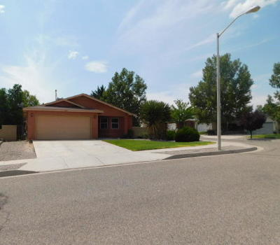 Rio Rancho Single Family Home For Sale: 3217 Wingate Meadows Drive NE
