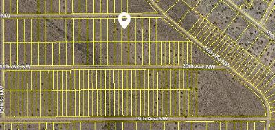 Rio Rancho Residential Lots & Land For Sale: 21st Avenue NW