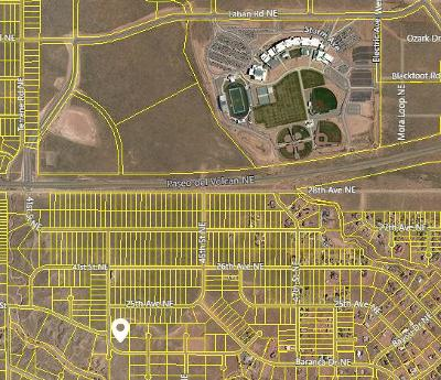Rio Rancho Residential Lots & Land For Sale: 43rd Street NE