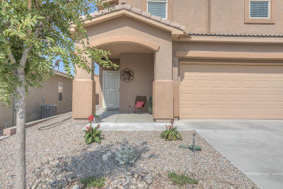 Rio Rancho NM Single Family Home For Sale: $185,000