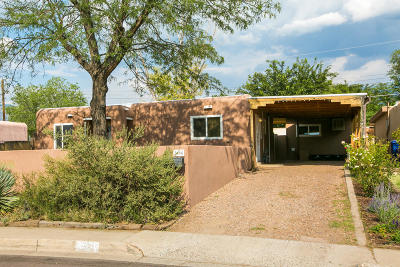 Albuquerque Single Family Home For Sale: 3604 Garcia Street NE