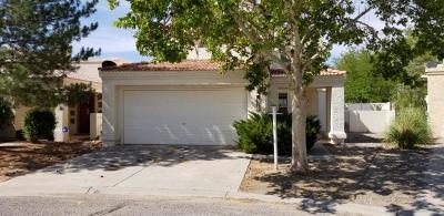 Rio Rancho Single Family Home For Sale: 3080 La Mirage Court SE