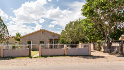 Albuquerque Single Family Home For Sale: 2009 Lucia Street SW
