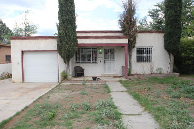 Albuquerque Single Family Home For Sale: 808 Wilmoore Drive SE