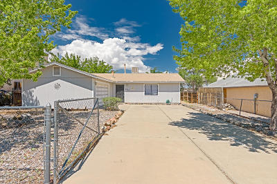 Albuquerque Single Family Home For Sale: 5833 Irving Boulevard NW