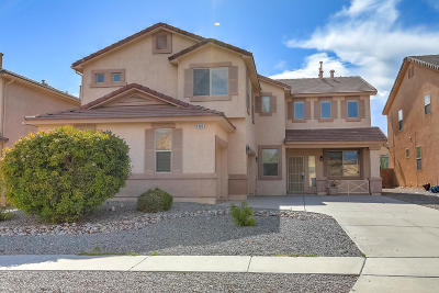 Rio Rancho Single Family Home For Sale: 1409 Ducale Drive SE