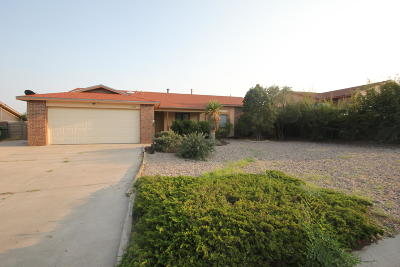 Rio Rancho Single Family Home For Sale: 4546 Pyrite Court NE
