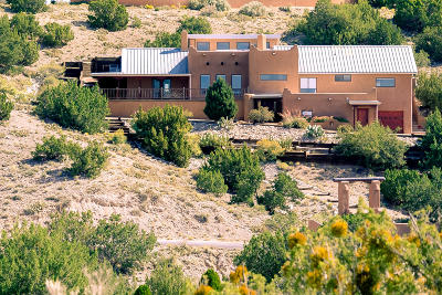 Placitas Single Family Home For Sale: 138 Juniper Road