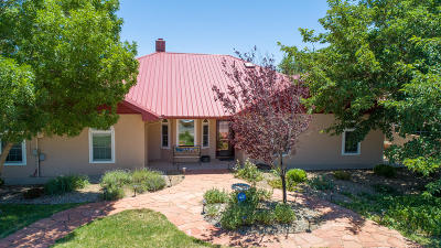 Valencia County Single Family Home For Sale: 1422 Crestview Drive SW