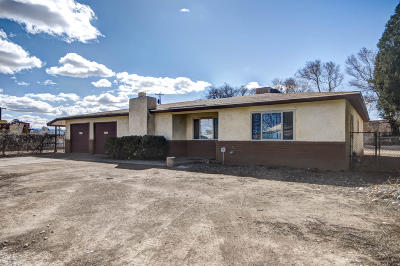 Albuquerque NM Single Family Home For Sale: $249,999
