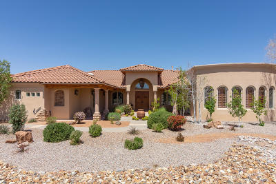 Albuquerque NM Single Family Home For Sale: $1,050,000
