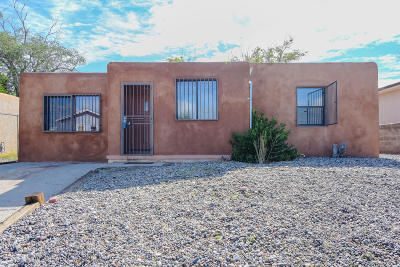 Albuquerque Single Family Home For Sale: 1612 Buena Vista Drive SE