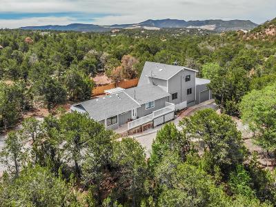 Tijeras Single Family Home For Sale: 75 Villacitos Drive