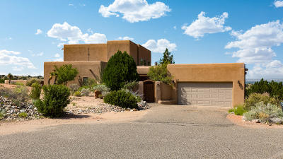 Placitas Single Family Home For Sale: 10 Ridge Court