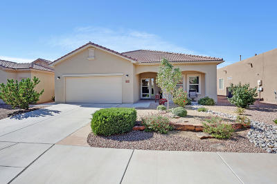 Bernalillo Single Family Home For Sale: 1042 Golden Yarrow Trail