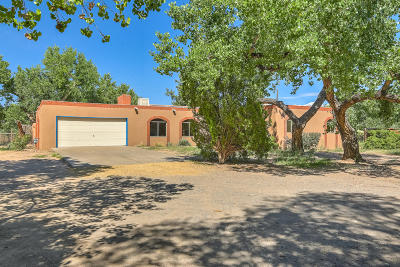 Corrales Single Family Home For Sale: 315 Target Road