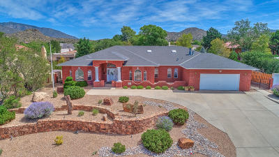 Albuquerque NM Single Family Home For Sale: $479,900