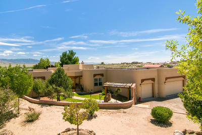 Albuquerque, Rio Rancho Single Family Home For Sale: 1200 Sonora Road NE