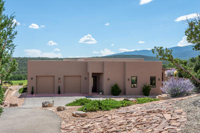 Tijeras, Cedar Crest, Sandia Park, Edgewood, Moriarty, Stanley Single Family Home For Sale: 27 Hogan Court