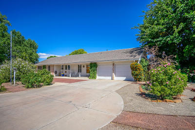 Albuquerque Single Family Home For Sale: 1209 Alameda Road NW
