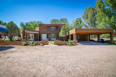 Los Lunas Single Family Home For Sale: 11 Racca Road