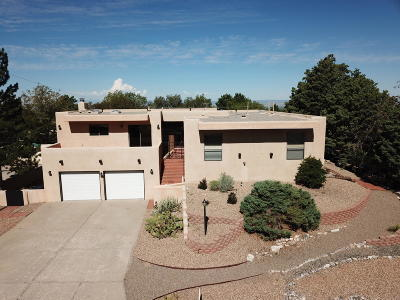 Single Family Home For Sale: 13460 Desert Hills Place NE