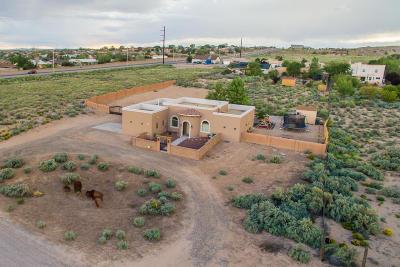 Albuquerque, Rio Rancho Single Family Home For Sale: 4805 Alberta Avenue NE
