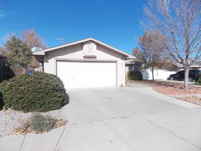 Albuquerque Single Family Home For Sale: 9019 Sunridge Avenue SW