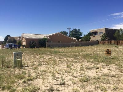 Albuquerque Residential Lots & Land For Sale: 9825 Boulder Street NW