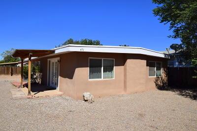 Bernalillo Single Family Home For Sale: 471 Michelle Circle