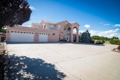 Valencia County Single Family Home For Sale: 25 Valle Lindo Court