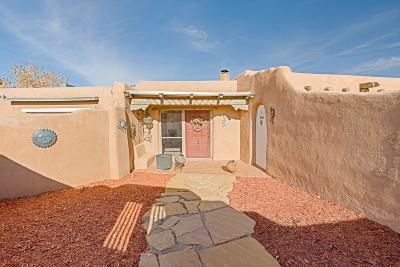 Placitas Single Family Home For Sale: 11 Homestead Lane
