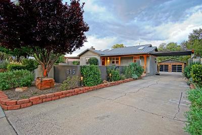 Albuquerque Single Family Home For Sale: 815 Washington Street NE