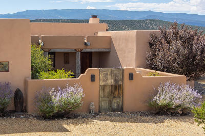Tijeras, Cedar Crest, Sandia Park, Edgewood, Moriarty, Stanley Single Family Home For Sale: 12 Old Rail Pass