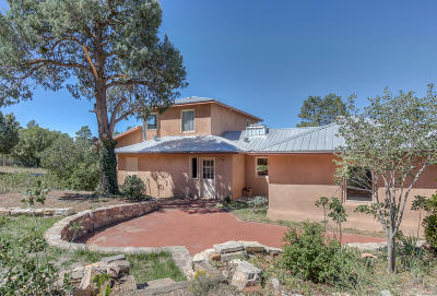 Tijeras, Cedar Crest, Sandia Park, Edgewood, Moriarty, Stanley Single Family Home For Sale: 3 Sean Road