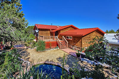 Tijeras Single Family Home For Sale: 5 Tablazon Lane