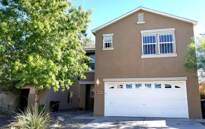 Albuquerque Single Family Home For Sale: 8816 Sawgrass Place NW