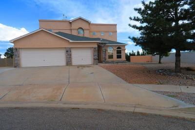 Rio Rancho Single Family Home For Sale: 5000 Brighton Hills Place NE