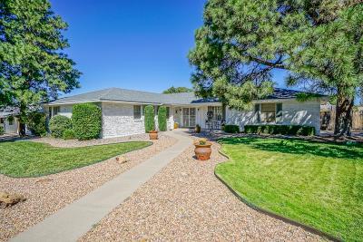 Albuquerque Single Family Home For Sale: 7817 Sierra Azul Avenue NE