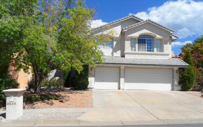 Albuquerque Single Family Home For Sale: 8617 Greenarbor Road NE